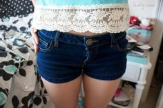 Like the shorts and tee