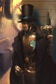Steampunk Illustration