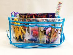 clear quilting caddy - Google Search
