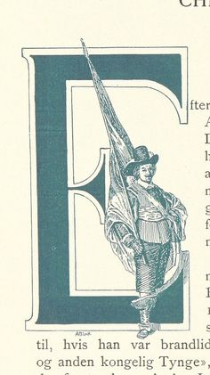 Image taken from page 98 of 'Gamle Christiania-Billeder' #initial_E #initial #E