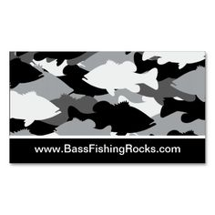 Camo business card fishing business cards pinterest business bass fishing black camo business card colourmoves