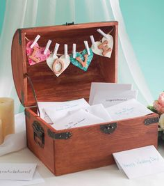 #DIY Wedding Crafts | Wedding Card Box | Find card box supplies at Jo-Ann Stores