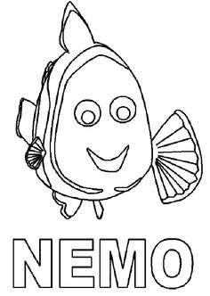 Nemo coloring pages for kids and parents, free printable and online coloring of Nemo frog pictures Dora Coloring, Cartoon Coloring Pages, Disney Coloring Pages, Colouring Pages, Printable Coloring Pages, Coloring Pages For Kids, Coloring Sheets, Finding Nemo Coloring Pages, Fish Crafts