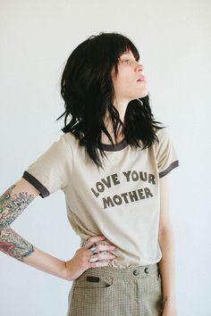 Liz- Love Your Mother | Ringer Tee