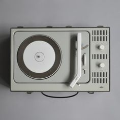 braun record player