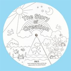 Creation wheel craft | Creation Story Wheels