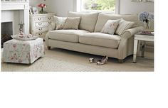 Chiltern sofa- really like this with maybe a striped smaller sofa