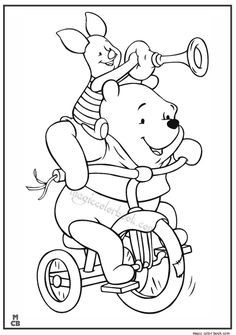 Winnie The Pooh Coloring Pages 33
