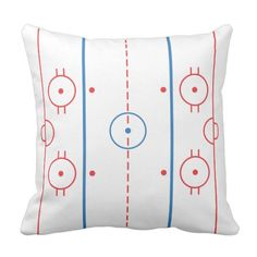Shop (Ice) Hockey Rink Pillow created by Madinagoodway.