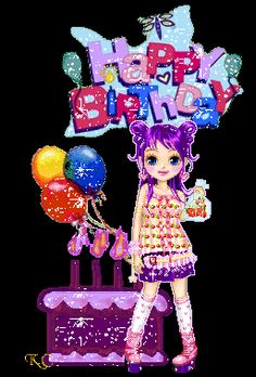 Glitter Birthday Wishes | ... ://www.glitters123.com/birthday/i-am-here-to-wish-you-happy-birthday
