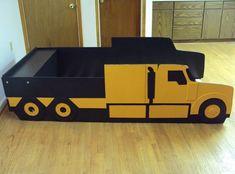 Custom Made Semi Tractor Truck Twin Kids Bed Frame