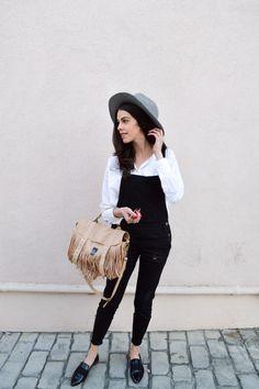 Overalls - Miami fashion blogger - overalls style