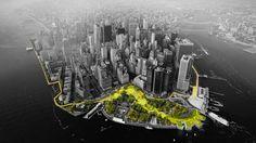 Galeria de The BIG U: a proposta do BIG para proteger Nova Iorque de inundações - 1