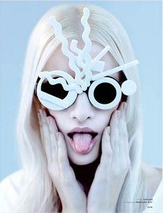 Zink Men's Issue April 2013 features Mercura POP Art Sunglasses photo: Michael Tessler Style: Natalie Fine  Make up: Christina Natale Hair: Elin Nyberg eyewear: Mercura NYC