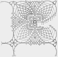 Home Decor Crochet Patterns Part 82 - Beautiful Crochet Patterns and Knitting Patterns Knitting Patterns, Crochet Patterns, Pineapple Crochet, Crochet Home Decor, Crochet Tablecloth, One And Other, Beautiful Crochet, Doilies, Handicraft