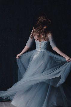 blue, dress, and princess resmi