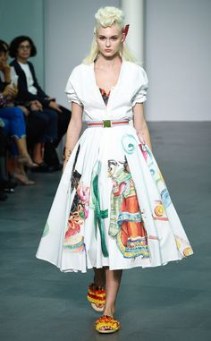 Stella Jean from Best Looks From Milan Fashion Week Spring 2016 | E! Online