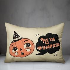 The Holiday Aisleâ® Thruxton Hi Ya Pumpkin Lumbar Pillow The Holiday AisleA