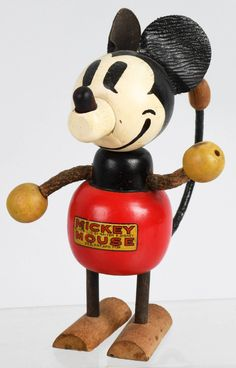 Minnie Mouse, Mickey Mouse Cartoon, Mickey Mouse And Friends, Antique Toys, Vintage Toys, Vintage Antiques, Toy Collector, Vintage Mickey, Soft Sculpture