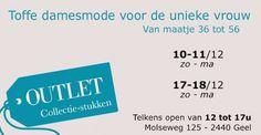 Outlet en collectiestukken damesmode -- Geel -- 10/12-18/12
