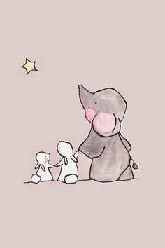 ideas for wallpaper iphone cute elephant Elephant Wallpaper, Wallpaper Iphone Cute, Disney Wallpaper, Trendy Wallpaper, Animal Wallpaper, Iphone Wallpapers, Elephant Illustration, Cute Illustration, Wallpaper Fofos