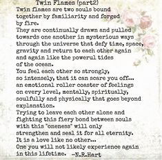 Soulmate And Love Quotes: Twin flames. leaving each other alone seals us for eternity. - Hall Of Quotes Twin Flame Relationship, Relationship Quotes, Relationships, Soul Quotes, Life Quotes, Status Quotes, Crush Quotes, Quotes Quotes, Twin Flame Love Quotes