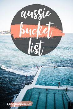 Aussie Bucket List – Prins in Oz