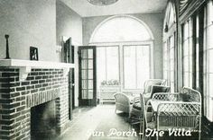 Sunporch, as seen in the 1919 catalogs line drawing.