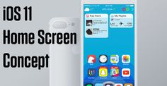 Immaginando iOS 11: Nuova Home con icone libere complicazioni e Siri 2.0