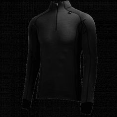 The best wool baselayer on the market. Combining the unique Lifa® fiber technology next to skin to keep you dry, with a premium Merino wool exterior with superior insulating and wicking properties. Helly Hansen, Freeze, Warm, Zip, Store, Winter, Jackets, Stuff To Buy, Fashion