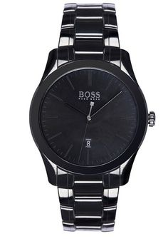 Hugo Boss 1513223 - In Stock! - This men's Hugo Boss watch is fitted with a quartz movement. It is fastened with a black ceramic bracelet and has a black dial. The watch has a date function. Trendy Mens Watches, Cool Watches, Watches For Men, Men's Watches, Unique Watches, Wrist Watches, Watches Online, Fashion Watches, Montres Hugo Boss