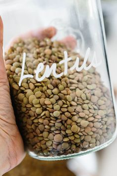 How to cook lentils perfectly (and not mushy). Lentils are small legumes loaded with plant-based protein and nutrients and they're delicious in a variety of healthy recipes. What Are Lentils, How To Cook Lentils, Cooking Green Lentils, French Green Lentils, Lentil Recipes, Vegetarian Recipes, Healthy Recipes, Vegan Pulled Pork, Eat Better