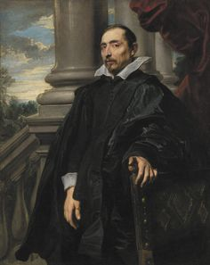 1621, Portrait of a Man by Antón van Dyck