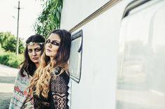 #editorial #fashion #nature #makeup #boho #gypsy #smokey #black #hippie #flowerpower #lace #van #messyhair