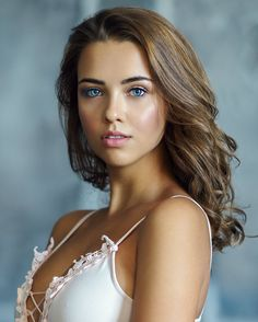 Beauty Female Portrait Photography by Ruslan Karabinin #photography #portraiture #beauty #lifestyle #fashion