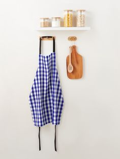 """""""Navy Blue and White Gingham Check Plaid Pattern"""" Apron by podartist   Redbubble Green Pattern, Plaid Pattern, Plaid Apron, Custom Aprons, White Apron, Gingham Check, Silent Night, Blue Christmas, Western Cowboy"""