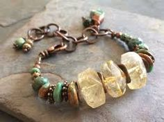Image result for citrine beaded jewelry