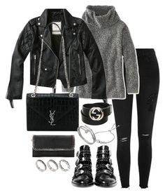 """Untitled #2986"" by theeuropeancloset ❤ liked on Polyvore featuring River Island, L.L.Bean, Abercrombie & Fitch, Givenchy, Yves Saint Laurent, STELLA McCARTNEY, ASOS, Gucci, Michael Kors and Cartier"
