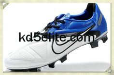 Nike CTR360 Maestri II Elite FG White Black Blue Spark Nike Elite Soccer  Cleats 4533ee01cf5f