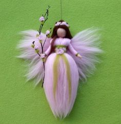 Needle Felted Wool Fairy or Angel Instructions Pattern PDF How to do Tutorial Guide. $8.00, via Etsy.