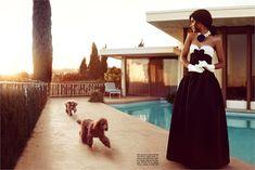 Kerry Washington for Vogue Italia July 2012