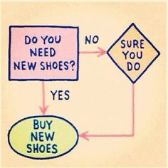 buy new shoes