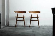 Chair  CH33  Hans J Wegner - ITEM - HIKE | 1950年代を中心とした、ヨーローパ・北欧家具(中古家具・ヴィンテージ家具)の販売