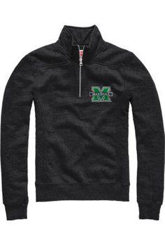 Product: Marshall University Thundering Herd Women's 1/4 Zip Fleece Pullover
