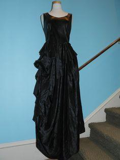 *NWT* IVAN GRUNDAHL Black Gown Sz 38 | eBay