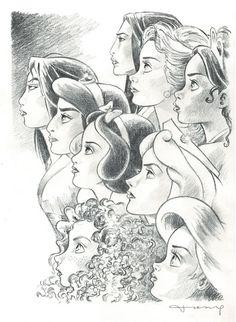 Drawings of disney princesses princesses the female power original pencil drawing tony draw disney princesses step . drawings of disney Disney Pencil Drawings, Disney Drawings Sketches, Cute Disney Drawings, Cute Drawings, Drawing Sketches, Drawing Disney, Pocahontas Drawing, Drawing Ideas, Belle Drawing