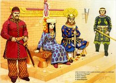 Court of the Sassanid Persians