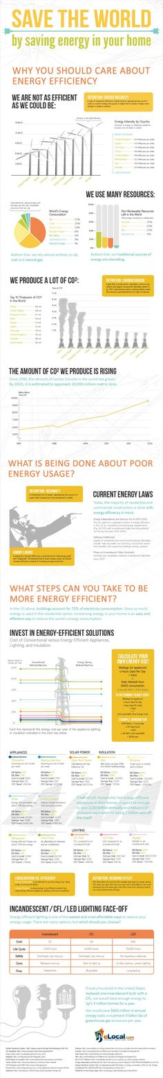 Great infograph about the importance of energy efficiency!
