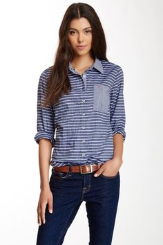 Nexx Striped Button-Up Shirt on HauteLook