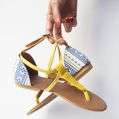 Yellow Legian Sandal